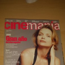 Cine: CINEMANIA Nº 4 - MICHELLE PFEIFFER, BRAD PITT. Lote 51475591