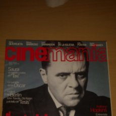 Cine: CINEMANIA Nº 6 - OLIVER STONE, ANTHONY HOPKINS, SAURA, ALEX DE LA IGLESIA. Lote 51475604
