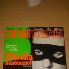 Cine: CINEMANIA Nº 12 - JOHN TRAVOLTA, INDEPENDENCE DAY, ROBERT REDFORD. Lote 51475612