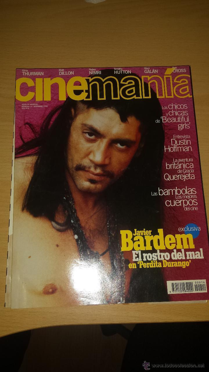 CINEMANIA Nº 14 - JAVIER BARDEM, PERDITA DURANGO, DUSTIN HOFFMAN, UMA THURMAN (Cine - Revistas - Cinemanía)
