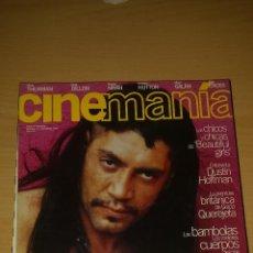 Cine: CINEMANIA Nº 14 - JAVIER BARDEM, PERDITA DURANGO, DUSTIN HOFFMAN, UMA THURMAN. Lote 51475619