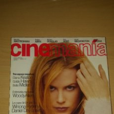 Cine: CINEMANIA Nº 17 - NICOLE KIDMAN, GOYA 97, WOODY ALLEN, VICTORIA ABRIL. Lote 51475627