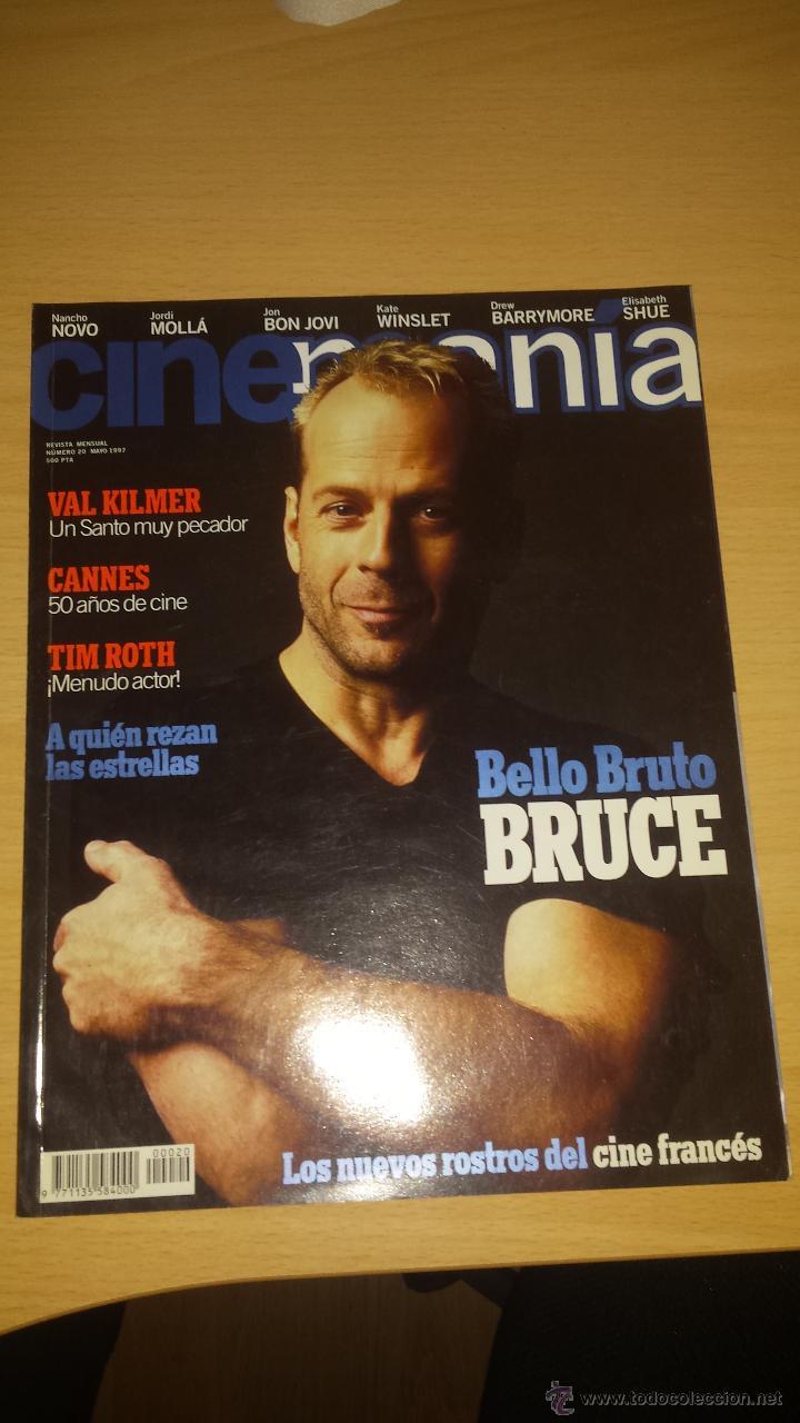 CINEMANIA Nº 20 - BRUCE WILLIS, VAL KILMER, JORDI MOLLA, JON BON JOVI (Cine - Revistas - Cinemanía)