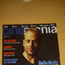 Cine: CINEMANIA Nº 20 - BRUCE WILLIS, VAL KILMER, JORDI MOLLA, JON BON JOVI. Lote 51475638