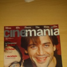 Cine: CINEMANIA Nº 26 - ALEX DE LA IGLESIA, JAVIER BARDEM, MEL GIBSON, DENNIS HOPPER, BIGAS LUNA. Lote 51475648