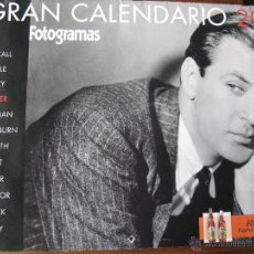 Cine: EL GRAN CALENDARIO DEL 2007. FOTOGRAMAS. LAUREN BACALL,CLARK GABLE,GRACE KELLY,GARY COOPER, .... Lote 51496651