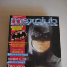 Cine: MSX CLUB REVISTA BATMAN. Lote 51527466