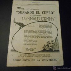 Cine: REVISTA ORIGINAL UNIVERSAL FILMS - 1923. Lote 51549512