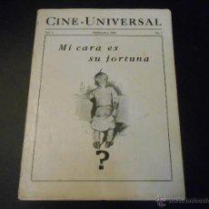 Cine: REVISTA ORIGINAL UNIVERSAL FILMS - 1926. Lote 51549560