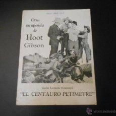 Cine: REVISTA ORIGINAL UNIVERSAL FILMS - 1927. Lote 51549606