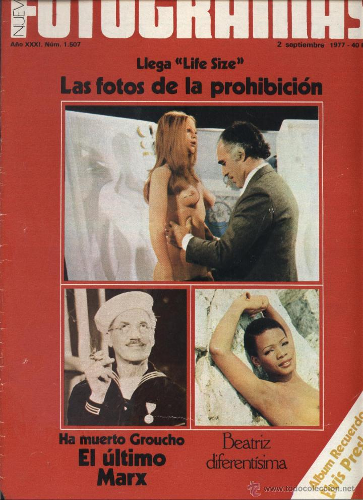revista fotogramas nº 1507 tamaño natural de be - Comprar Revistas ...