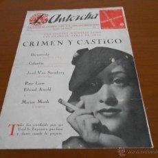 Cine: LA ANTORCHA - RARA REVISTA OFICIAL DE COLUMBIA FILMS DE 1936. Lote 51567897