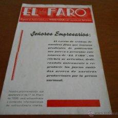 Cine: REVISTAS EL FARO - FOX - TRES REVISTAS ORIGINALES DE LOS AÑOS 1933 Y 1935. Lote 51568024