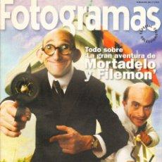 Cine: REVISTA SUPLEMENTO FOTOGRAMAS MORTADELO Y FILEMON . Lote 51590775