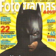 Cine: REVISTA FOTOGRAMAS HAYDEN CHRISTENSEN - BATMAN BEGINS Nº 1940 JUNIO 2005. Lote 51595073