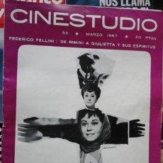 Cine: CINESTUDIO, MARZO 1967, Nº 55. NUEVE CARTAS A BERTA EXPLICADA POR SU AUTOR. . Lote 51596495