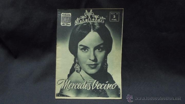 IDOLOS DEL CINE - Nº 67 - MERCEDES VECINO - (Cine - Revistas - Colección ídolos del cine)