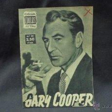 Cine: IDOLOS DEL CINE - Nº 54 - GARY COOPER. Lote 51597431
