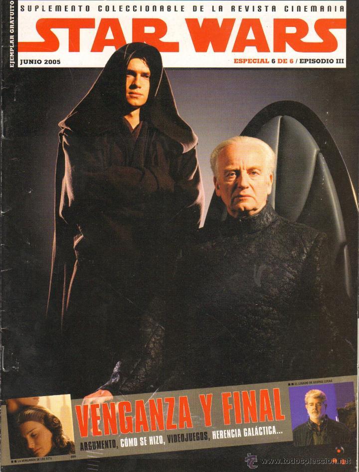 REVISTASTAR WARS - ESPECIAL 6 DE 6 JUNIO 2005 (Cine - Revistas - Cinemanía)