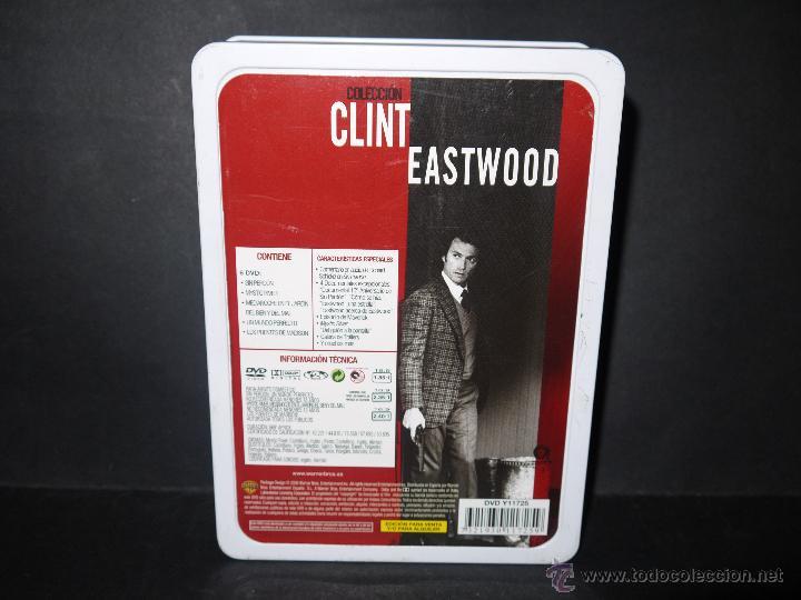 Cine: DVD, CLINT EASTWOOD,SIN PERDON,MYSTIC RIVER,MEDIANOCHE EN EL...,UN MUNDO PERFECTO,LOS PUENTES DE MAD - Foto 2 - 51700061