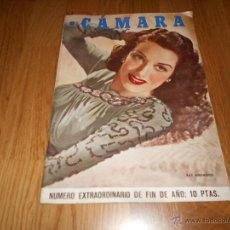 Cine: REVISTA CÁMARA Nº EXTRAORDINARIO 1946 FIN DE AÑO KATHARINE HEPBURNCHARLOT MUY RARO !!!. Lote 51768873