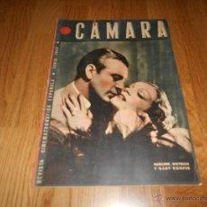 Cine: CÁMARA - JUNIO 1942 - GARY COOPER Y MARLENE DIETRICH GINGER ROGERS POSTER MARIANNE SIMSON. Lote 51768954