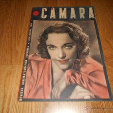 Cine: CÁMARA REVISTA CINEMATOGRÁFICA ESPAÑOLA Nº12 SEPTIEMBRE 1942 JACQUELINE DELUBAC GARY COOPER DIETRICH. Lote 51798045