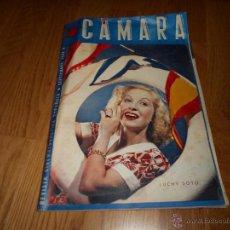 Cine: REVISTA DE CINE CAMARA Nº 24 SEPTIEMBRE 1943 LUCHY SOTO HEDY LAMARR AMPARO RIVELLES G. GARBO. Lote 51798202