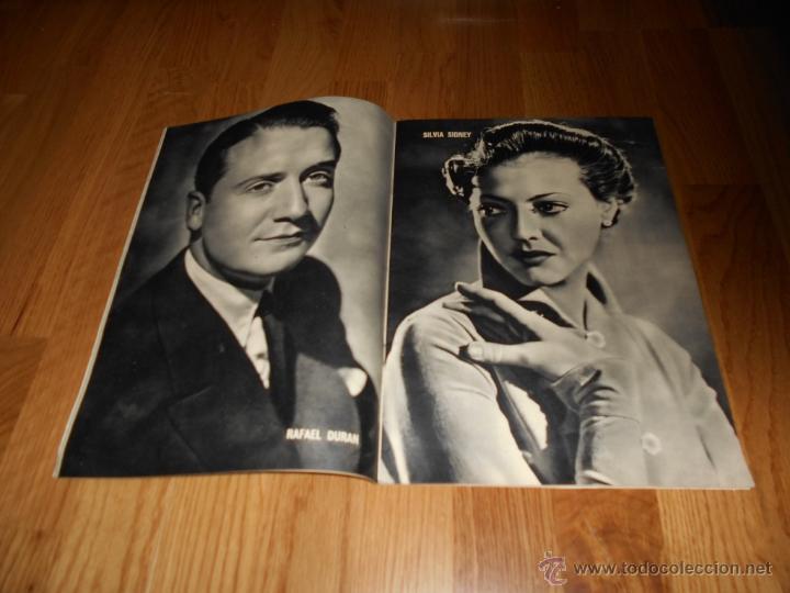 Cine: REVISTA DE CINE CAMARA Nº 25 OCTUBRE 1943 MARTA SANTAOLALLA JOAN BENNETT DECLARACIONES HEDY LAMARR - Foto 2 - 51798384