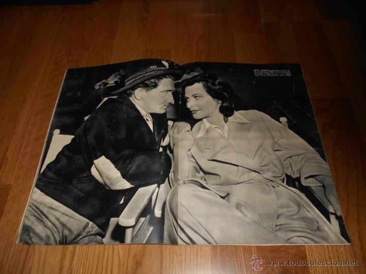 Cine: REVISTA DE CINE CAMARA Nº 25 OCTUBRE 1943 MARTA SANTAOLALLA JOAN BENNETT DECLARACIONES HEDY LAMARR - Foto 3 - 51798384