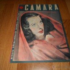 Cine: REVISTA DE CINE CAMARA Nº 18 MARZO 1943 HEDY LAMARR GRETA GARBO. Lote 51798820