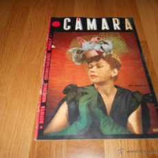 Cine: REVISTA DE CINE CAMARA Nº 42 OCTUBRE 1944 ANA MARISCAL AMPARO RIVELLES CHARLES BOYER. Lote 51799198
