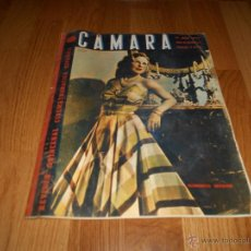 Cine: REVISTA DE CINE CAMARA Nº 37 JULIO 1944 FLORENCIA BECQUER GARY COOPER RITA HAYWORTH VIDA MYRNA LOY. Lote 51799942