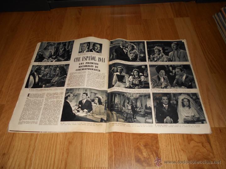 Cine: REVISTA DE CINE CAMARA Nº 37 JULIO 1944 FLORENCIA BECQUER GARY COOPER RITA HAYWORTH VIDA MYRNA LOY - Foto 3 - 51799942