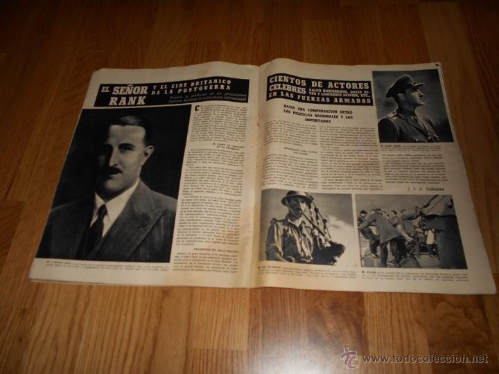 Cine: REVISTA DE CINE CAMARA Nº 37 JULIO 1944 FLORENCIA BECQUER GARY COOPER RITA HAYWORTH VIDA MYRNA LOY - Foto 5 - 51799942