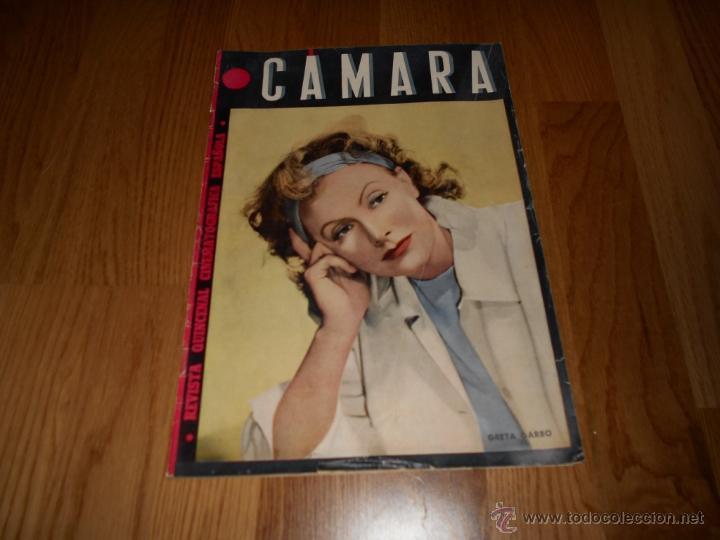 CAMARA. REVISTA QUINCENAL Nº 45, DE NOVIEMBRE DE 1944 (Cine - Revistas - Cámara)