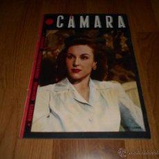 Cine: REVISTA DE CINE CAMARA Nº33 MAYO 1944 MARY LAMAR RONALD COLMAN LANA TURNER VERONICA LAKE JENNY JUGO. Lote 51810384
