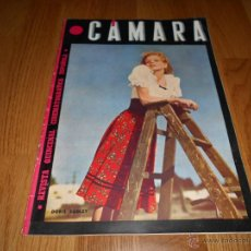 Cine: REVISTA DE CINE CAMARA Nº56 MAYO 1945 DORIS DUDLEY AMPARO RIVELLES IVONNE DE CARLO . Lote 51811616