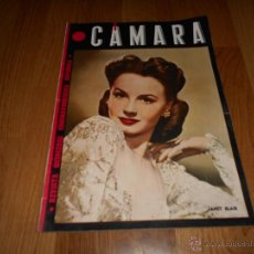 Cine: REVISTA DE CINE CAMARA Nº52 MARZO 1945 JANET BLAIR DON AMECHE VIDA DE CHARLOT C.B. DE MILLE . Lote 51811690