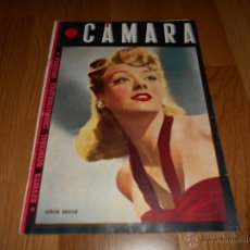 Cine: REVISTA DE CINE CAMARA Nº62 AGOSTO 1945 LESLIE BROOK WALT DISNEY ALFREDO MAYO CLARK GABLE. Lote 51812135