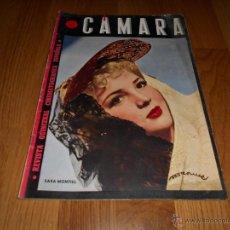 Cine: CAMARA. REVISTA CINEMATOGRÁFICA. 5 PTS. Nº 60. 1 DE JULIO DE 1945. SARA MONTIEL. Lote 51816275