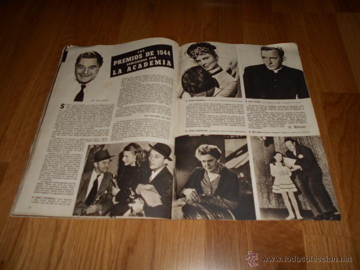 Cine: CAMARA. REVISTA CINEMATOGRÁFICA. 5 PTS. Nº 60. 1 DE JULIO DE 1945. SARA MONTIEL - Foto 2 - 51816275