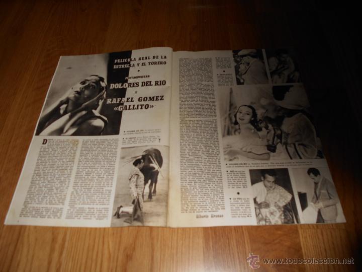 Cine: CAMARA. REVISTA CINEMATOGRÁFICA Nº59 JUNIO 1945 JOAN WINFIELD DOLORES DEL RIO Y GALLITO GARY COOPER - Foto 2 - 51816391