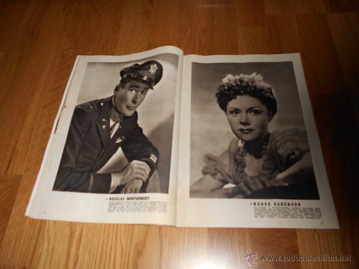 Cine: CAMARA. REVISTA CINEMATOGRÁFICA Nº59 JUNIO 1945 JOAN WINFIELD DOLORES DEL RIO Y GALLITO GARY COOPER - Foto 3 - 51816391