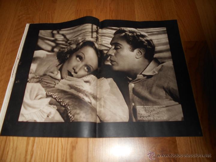 Cine: CAMARA. REVISTA CINEMATOGRÁFICA Nº59 JUNIO 1945 JOAN WINFIELD DOLORES DEL RIO Y GALLITO GARY COOPER - Foto 4 - 51816391