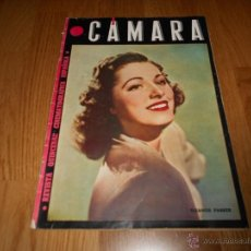 Cine: CAMARA. REVISTA CINEMATOGRÁFICA Nº51FEBRERO 1945 ELEANOR PARKER CARL RADDATZ Y W. BIRGEL. Lote 51816522