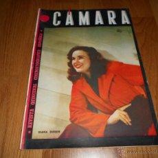 Cine: CAMARA. REVISTA CINEMATOGRÁFICA Nº50 FEBRERO 1945 DIANA DURBIN CHARLOT . Lote 51816989