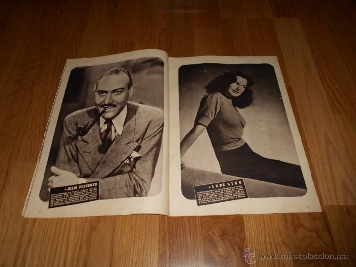 Cine: CAMARA. REVISTA CINEMATOGRÁFICA Nº50 FEBRERO 1945 DIANA DURBIN CHARLOT - Foto 2 - 51816989
