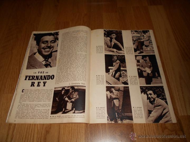 Cine: CAMARA. REVISTA CINEMATOGRÁFICA Nº50 FEBRERO 1945 DIANA DURBIN CHARLOT - Foto 3 - 51816989