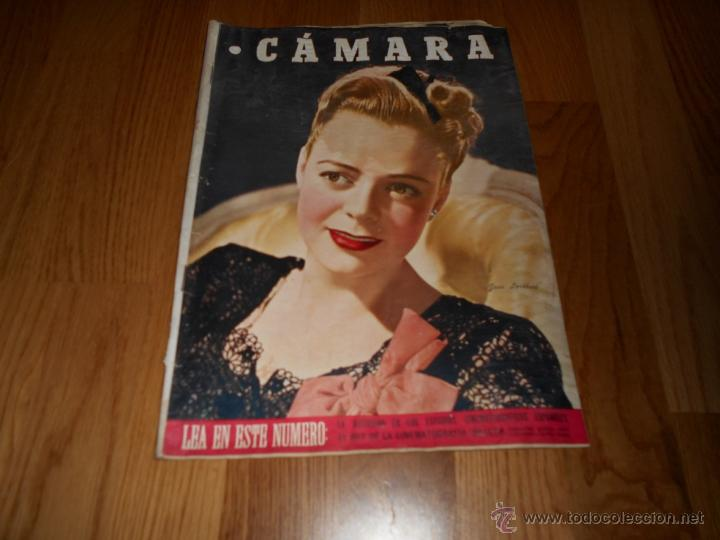 CAMARA. REVISTA CINEMATOGRÁFICA Nº93 NOVIEMBRE 1946 JUNE LOCKHART NIÑOS EN EL CINE (Cine - Revistas - Cámara)